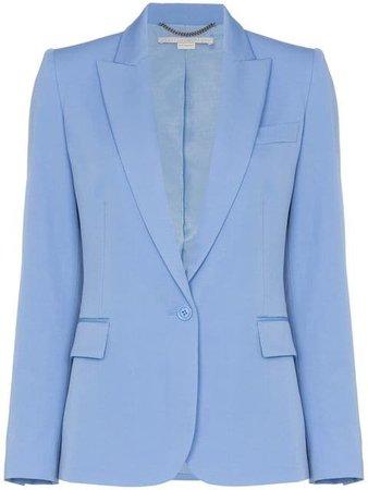 Stella McCartney Padded Shoulder Fitted Blazer Jacket - Farfetch