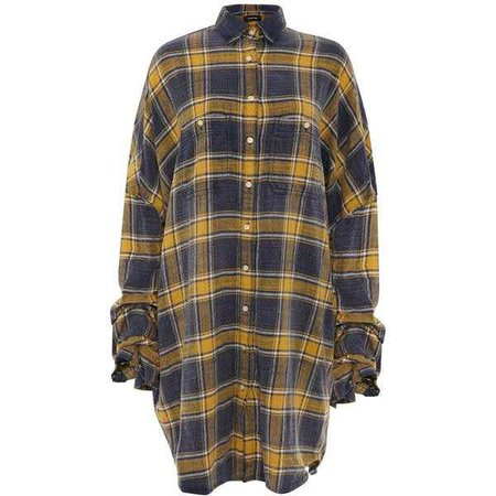 R13 Scrunched Sleeve Oversized Shirt ($625)