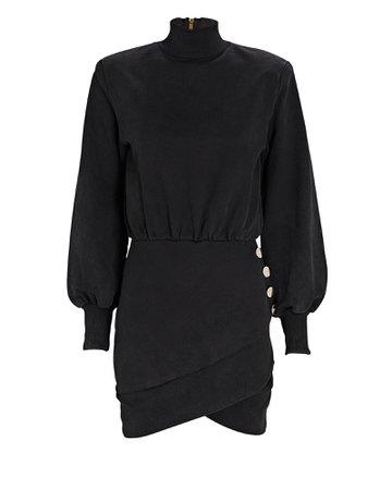 Retrofête Althea Turtleneck Sweatshirt Mini Dress | INTERMIX®