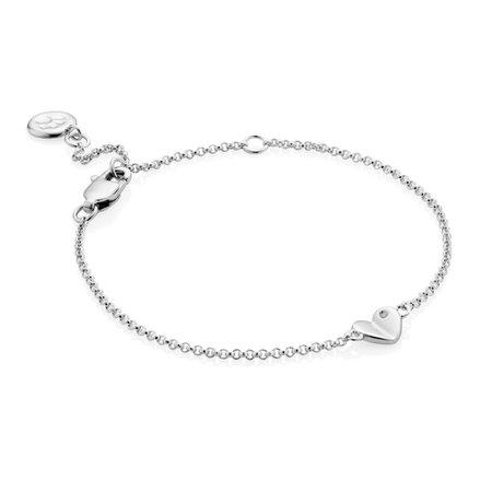 Molly Brown - Silver & Diamond Bracelet   Childrensalon