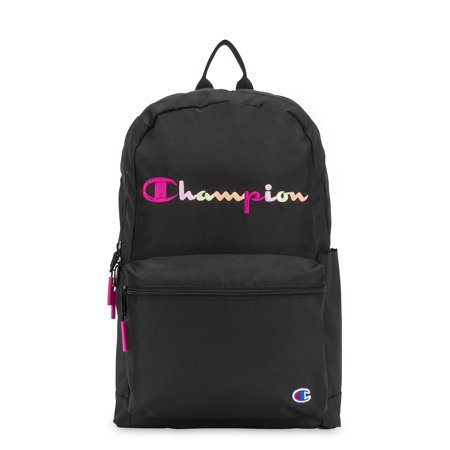 Champion - Champion Billboard Backpack, Black/Pink - Walmart.com