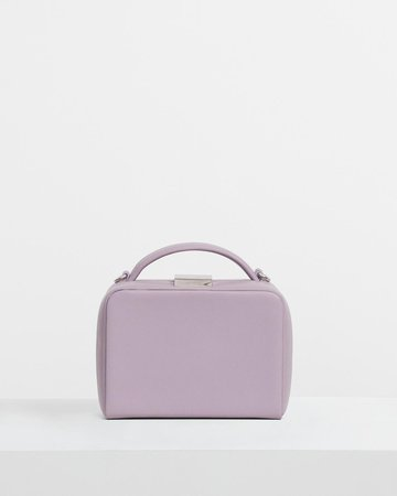 Cube Bag in Leather   Theory