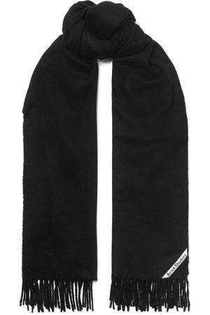 Acne Studios   Canada fringed cashmere scarf   NET-A-PORTER.COM
