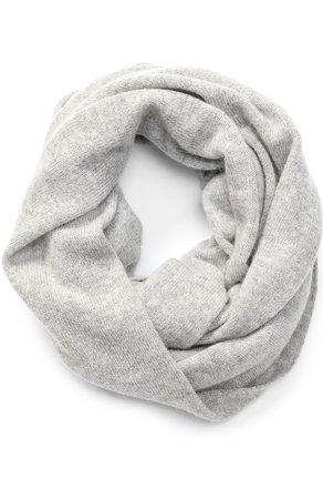 Женский светло-серый кашемировый шарф-снуд TSUM COLLECTION — купить за 19400 руб. в интернет-магазине ЦУМ, арт. 136C