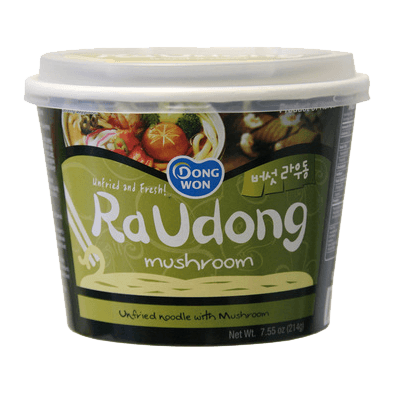 Dongwon Instant Noodles Cup Shitake (Raudong) 214gr