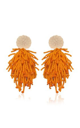 Glass Beaded Luxurious Experience Earrings By Johanna Ortiz | Moda Operandi