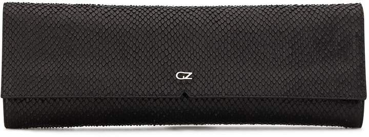 Lorelai leather clutch