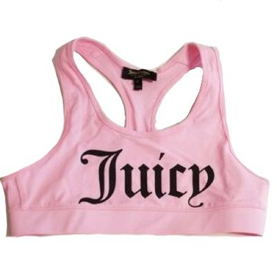 juicy couture candy graphic racerback