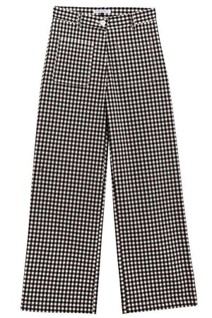 Side Party - Dare Gingham Relaxed Pants   BONA DRAG