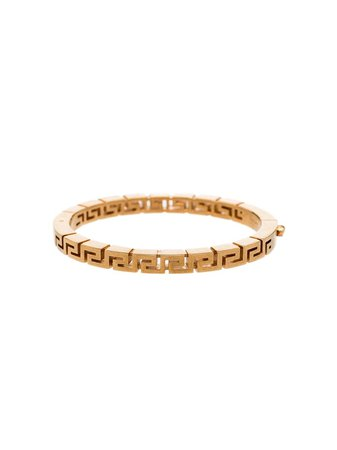 Versace Greca Bangle Bracelet - Farfetch
