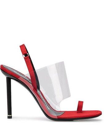 Alexander Wang Transparent Heeled Sandals - Farfetch