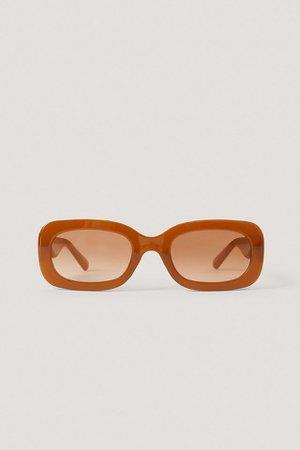 Caye Sunglasses Brown | na-kd.com