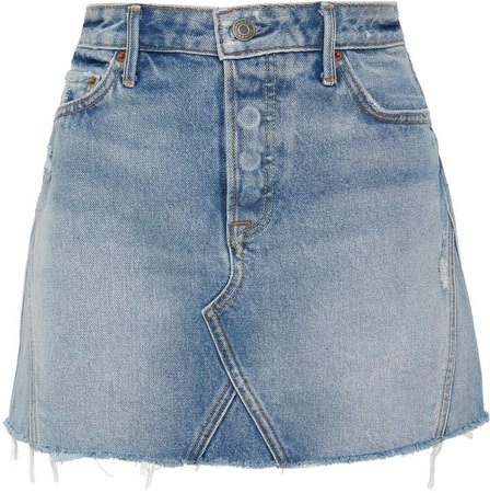Denim Eva Denim Mini Skirt
