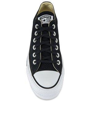 Converse Chuck Taylor All Star Lift Sneaker in Black & White | REVOLVE