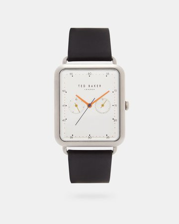 Square dial watch - Black | Watches | Ted Baker