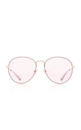 Round Sunglasses by Givenchy Sunglasses | Moda Operandi