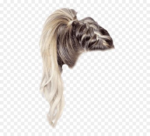 blonde ponytail polyvore - Google Search