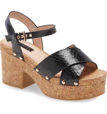 Topshop Platform Sandal (Women)   Nordstrom