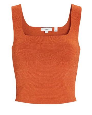 A.L.C. Victoria Knit Tank Top | INTERMIX®