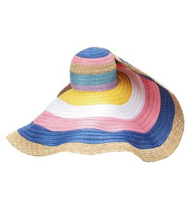 Missoni Mare - Striped straw hat | Mytheresa