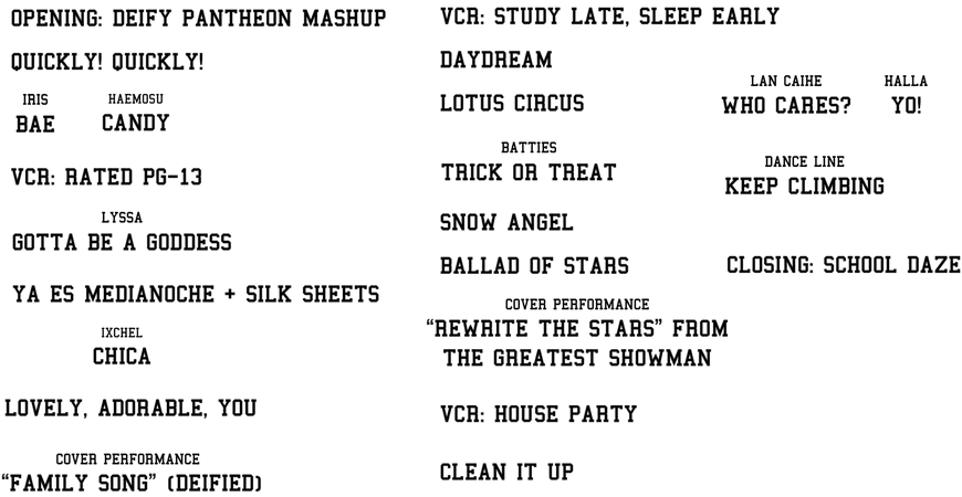 Heavenscent North American Tour Big City Lineup