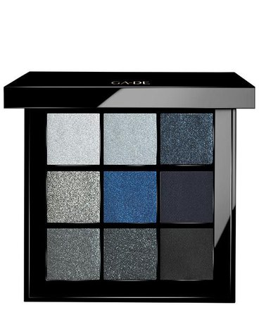 Dark Blue Eyeshadow Palette