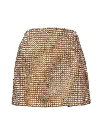gold sparkly skirt