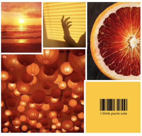 blood orange + yellow contest