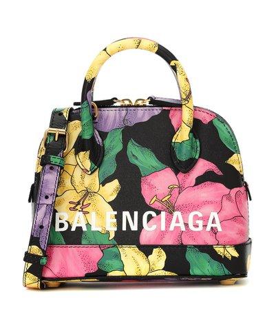 Ville Xxs Floral Leather Tote - Balenciaga | Mytheresa