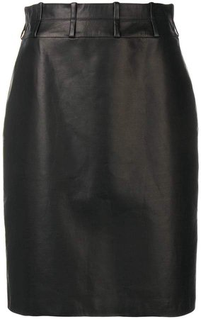 Partow Cora pencil skirt