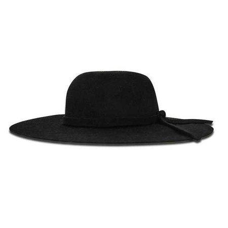 Fashiontage - Wool Hat Black - 938490036285