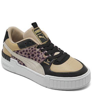 Puma Women's Cali Sport Wildcats Casual Sneakers from Finish Line & Reviews - Finish Line Athletic Sneakers - Shoes - Macy's