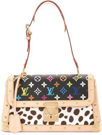 Pre-Owned Dalmatian shoulder bag