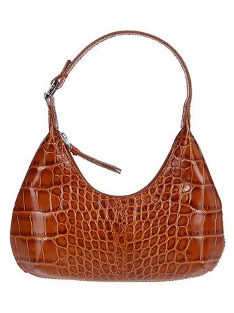 Brown Leather Amber Shoulder Bag