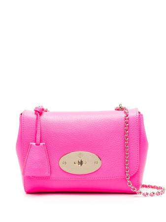 Mulberry hot pink cross-body bag with chain-link shoulder strap pink HH7027736J193 - Farfetch