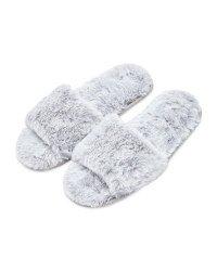 Avenue Ladies' Grey Slider Slippers - ALDI UK