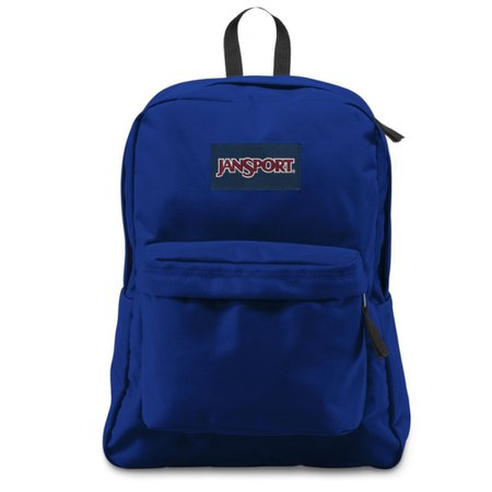 JanSport - JanSport Superbreak Backpack (Regal Blue) - Walmart.com