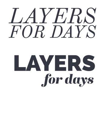 layersfordays