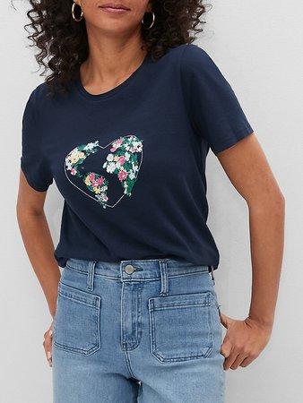 Organic Cotton Earth Day Graphic T-Shirt | Banana Republic Factory