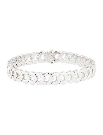 Cartier Vintage Diamond C de Cartier Link Bracelet - Bracelets - CRT43123 | The RealReal