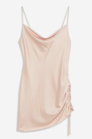 Ruched Mini Slip Dress | Topshop