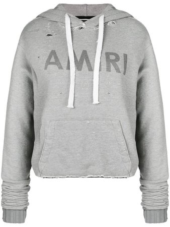 AMIRI Cropped Hoodie