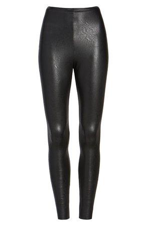 Commando Control Top Faux Leather Leggings | Nordstrom