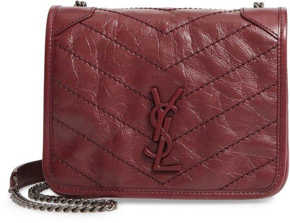 Niki Leather Crossbody Bag