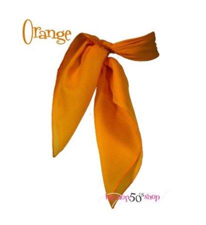 orange scarf belt