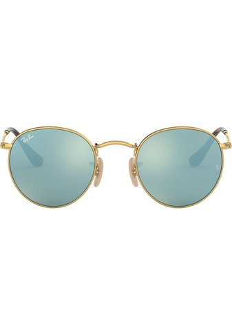 Ray-Ban Round Metal Sunglasses - Farfetch