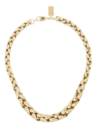 Lauren Rubinski 14kt Yellow Gold chain-link Necklace - Farfetch