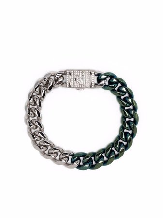 DARKAI Bracelet Bicolore En Maille Gourmette - Farfetch