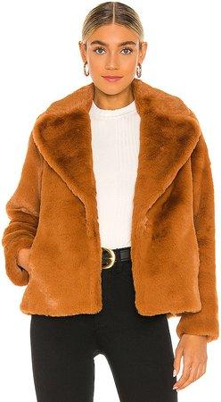 Emanuela Faux Fur Coat