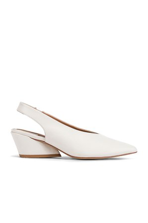 Aim Leather Slingback Heel
